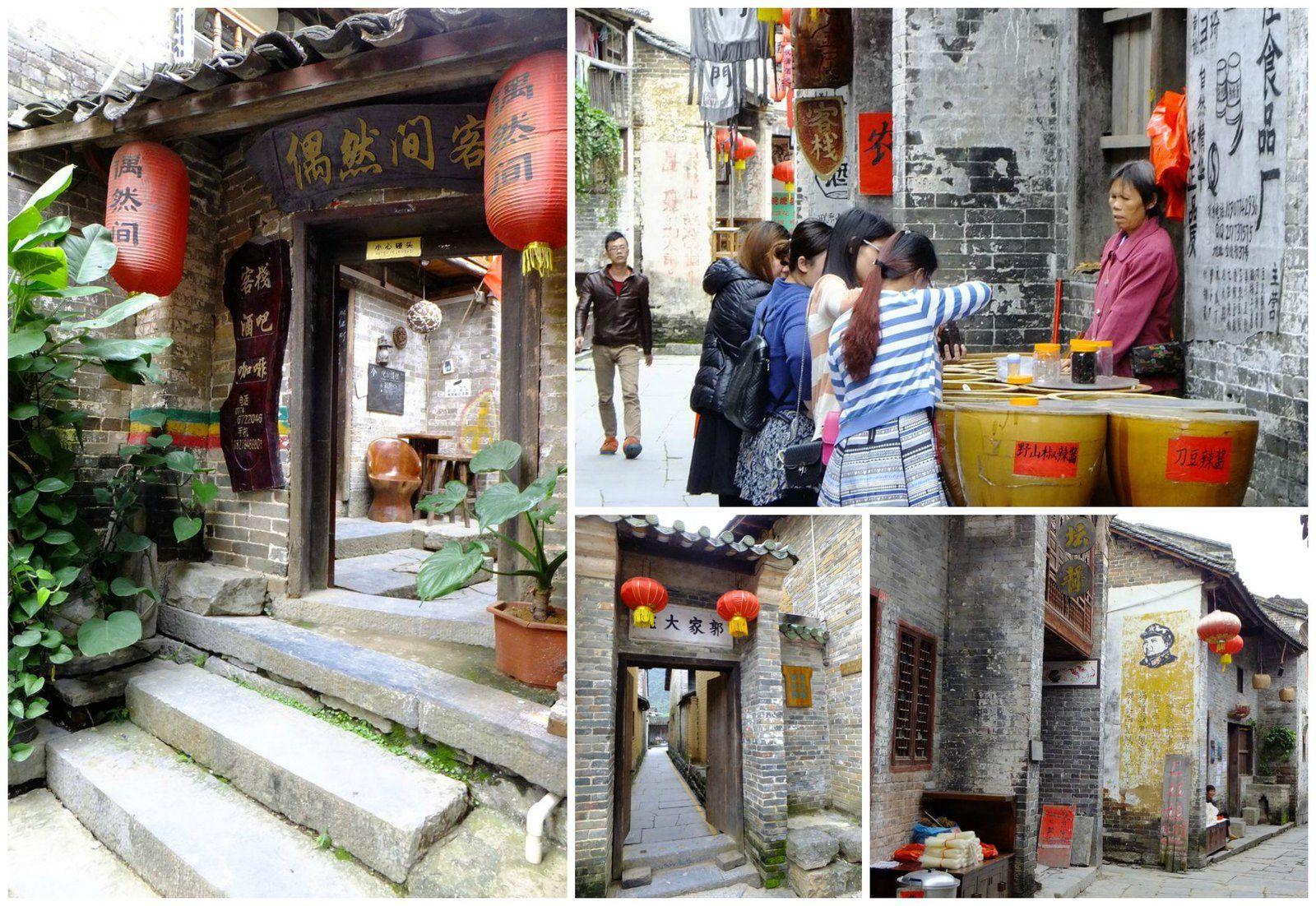 A Huangyao, nous avons aimé remonter le temps...