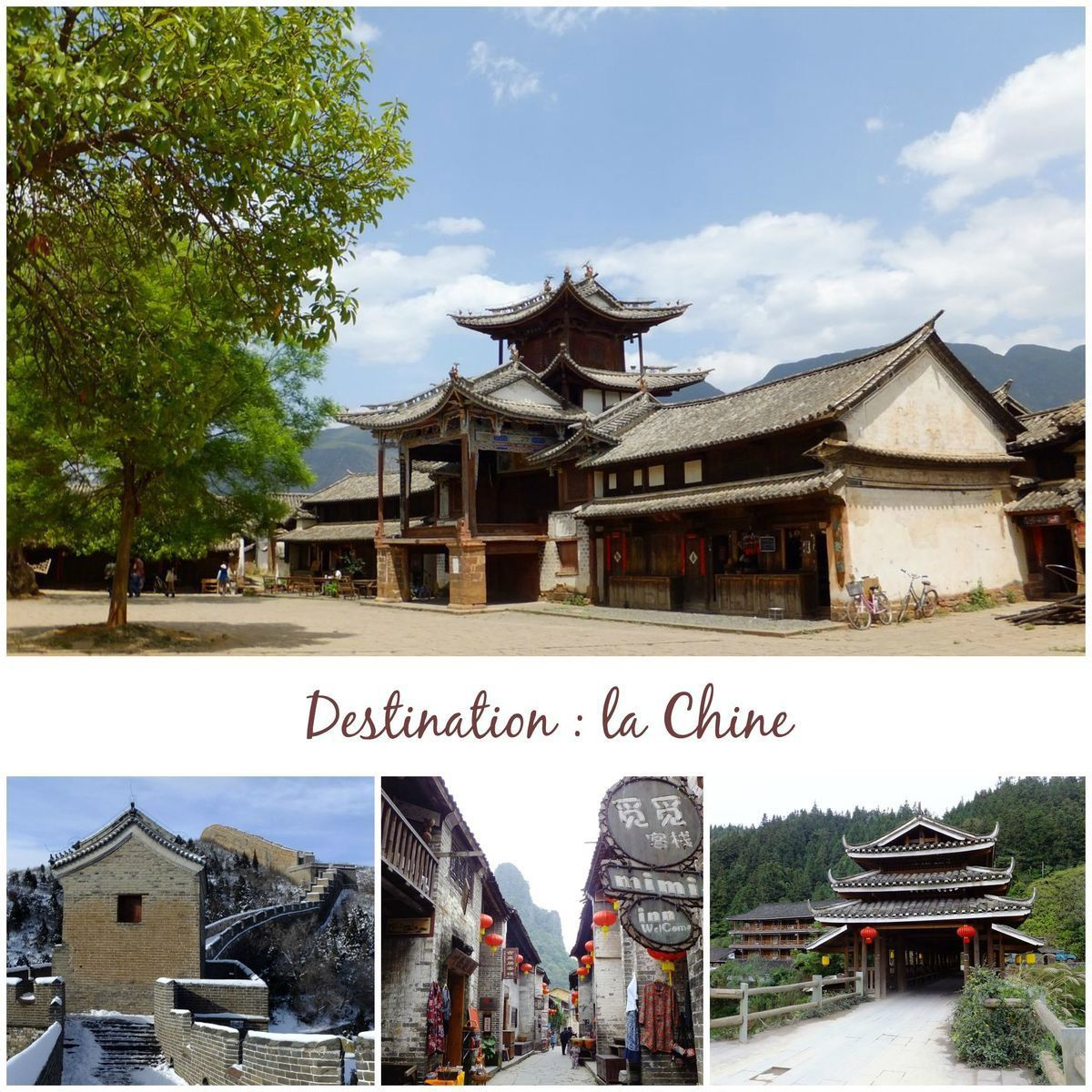 Destination, la Chine