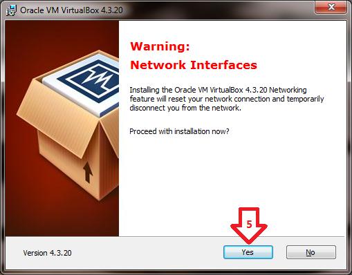 Téléchargement et installation de VirtualBox