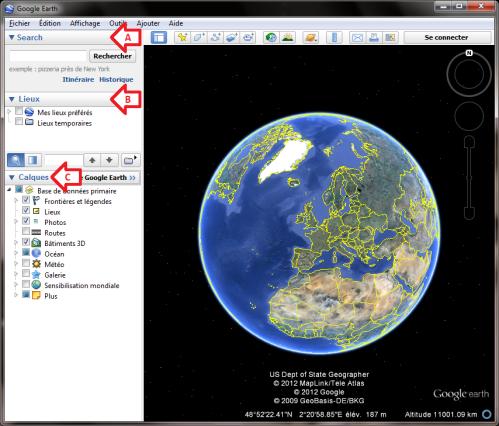 Tutoriel: Survoler un itinéraire avec Google Earth