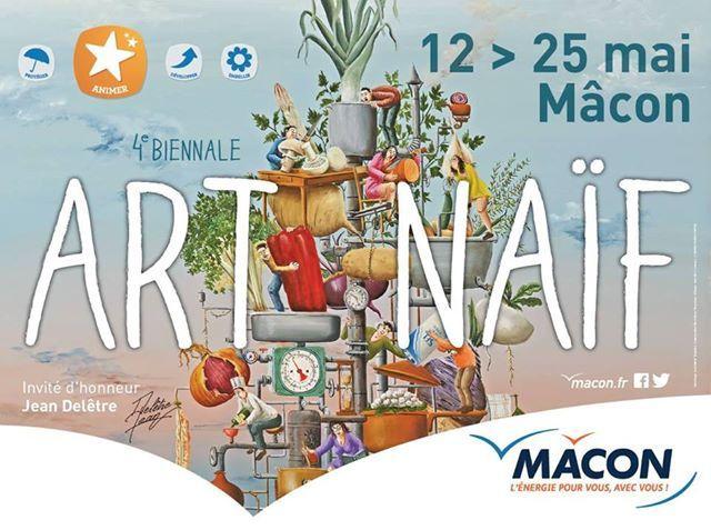 4ème Biennale d'ART NAÏF à Mâcon