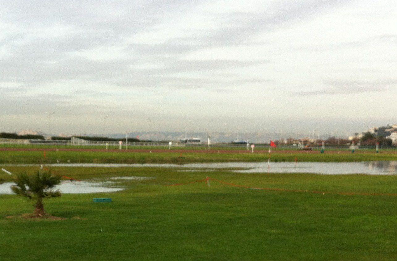 Aujourd'hui c'était &quot&#x3B; Water-golf &quot&#x3B;