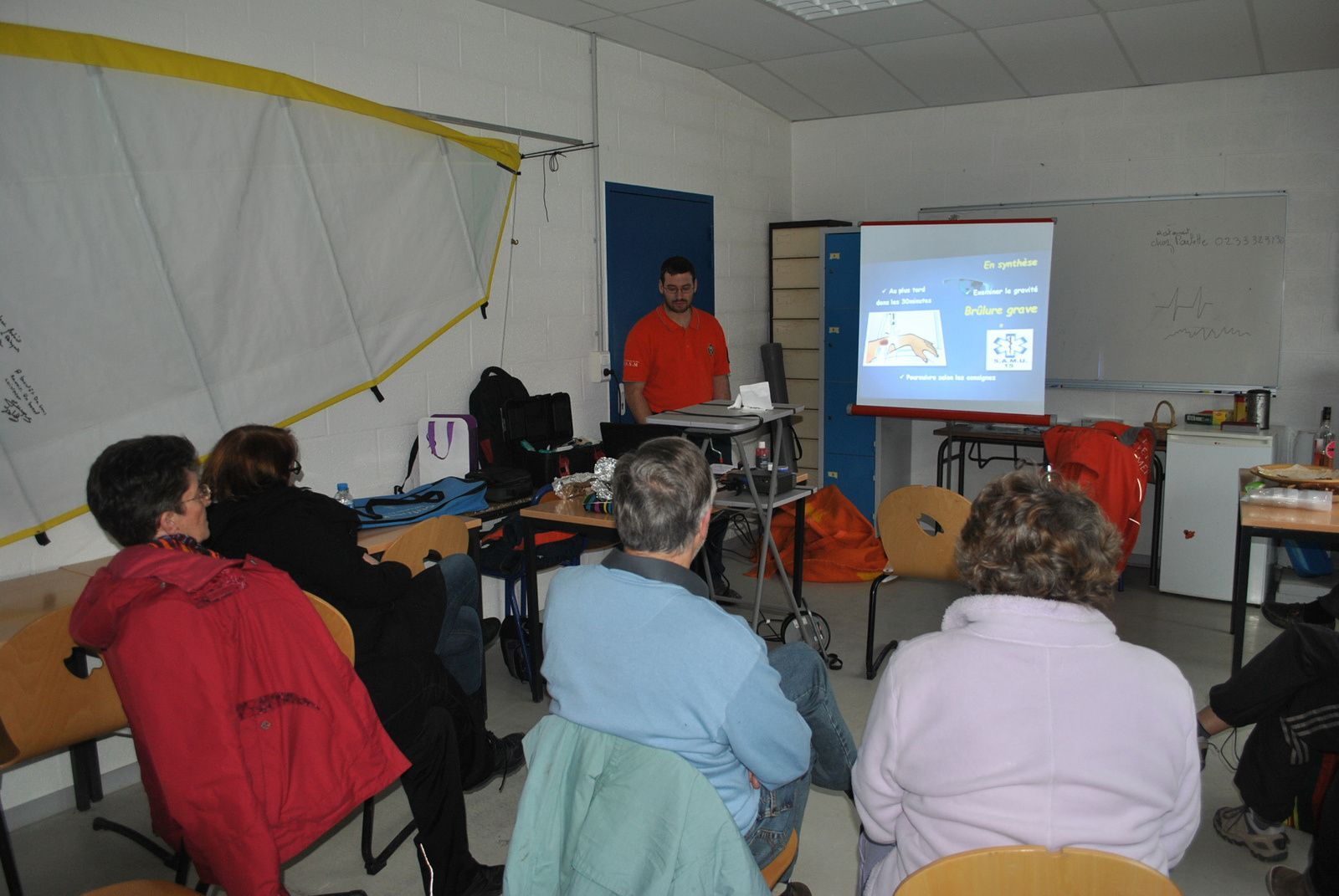 Formation PSC1 au profit des Marcheurs Ioday