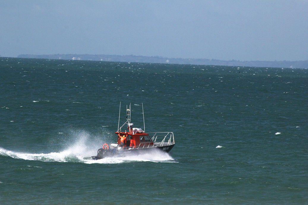 Premiers essais à la mer pour l'équipage