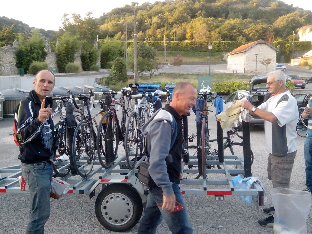 Et c'est le retour en Drôme, demain retour au boulot...