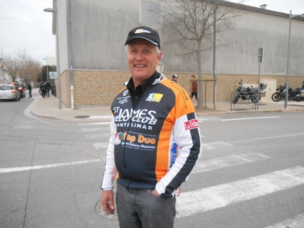 """Jean-Louis Ducros, un """"vieux"""" collègue du boulot qui maintenant en retraite oeuvre au sein du St James."""