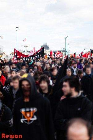 Article paru sur Rebellyon suite à la manifestation du 22 février