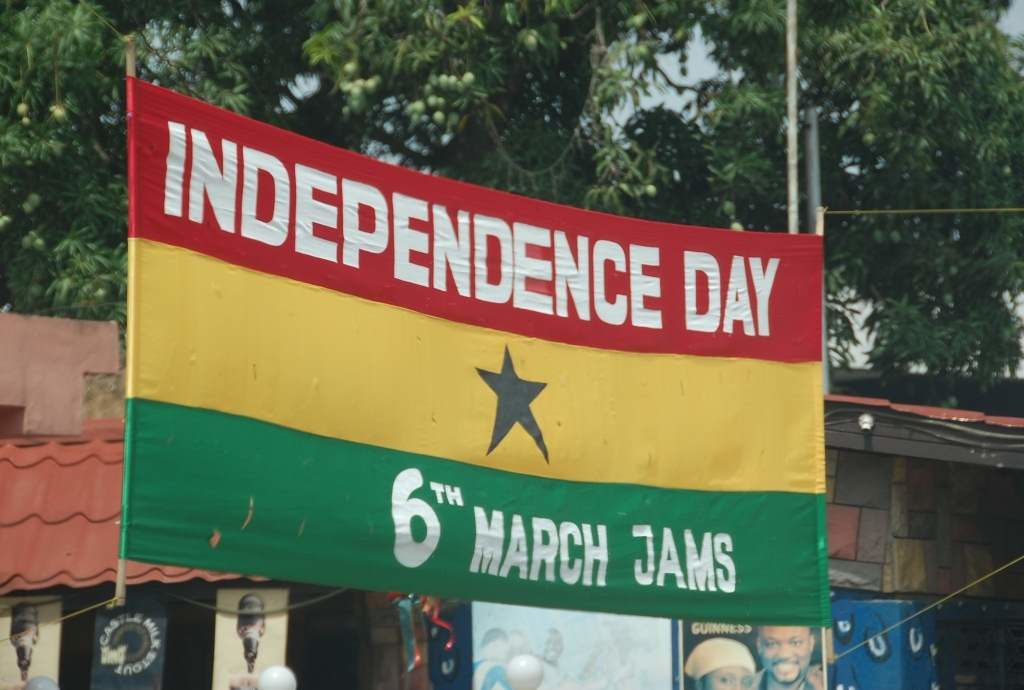 Ghana : We will be jolly, merry and gay the 6th of March, Independence Day !