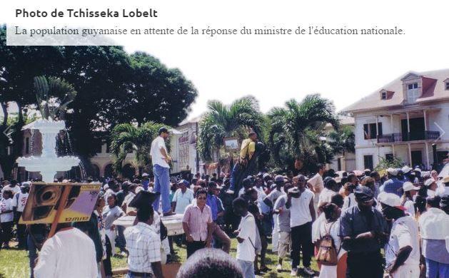 Mobilisation en 1996