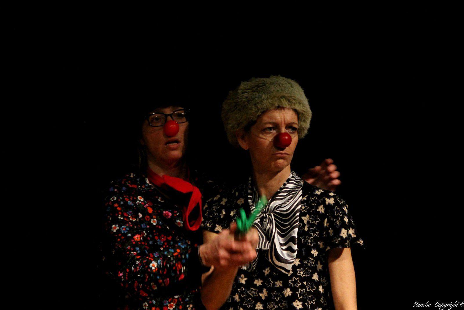Pêle-mêle atelier clowns