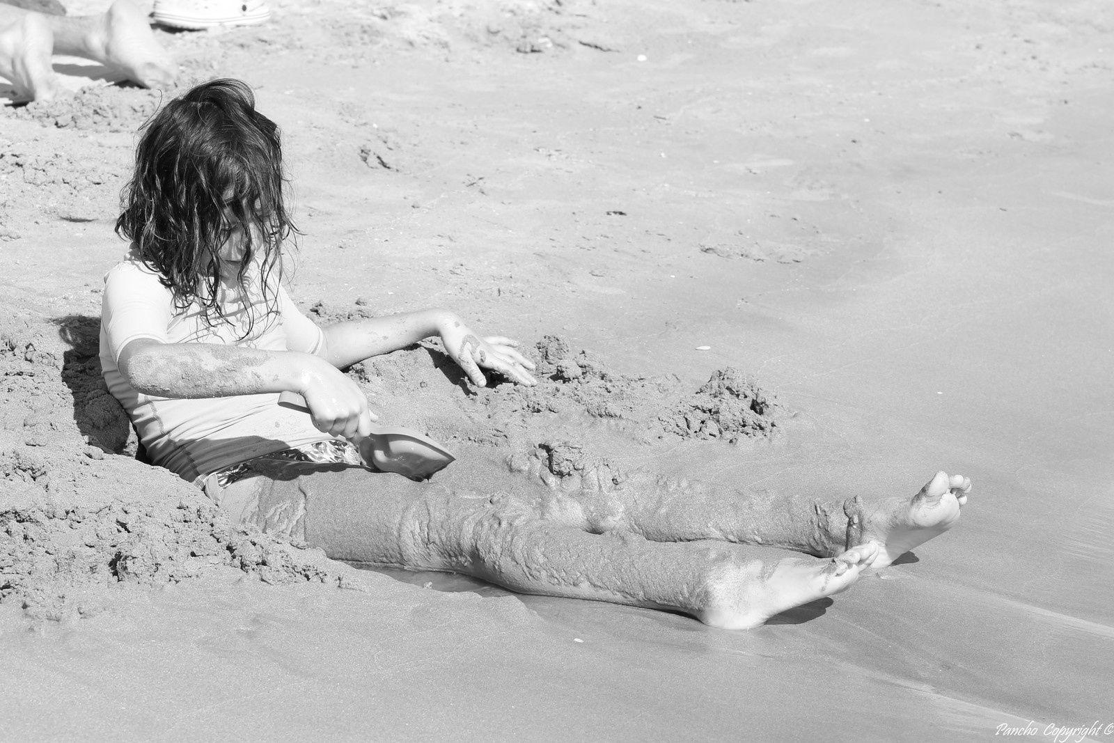 Ah le sable!!!