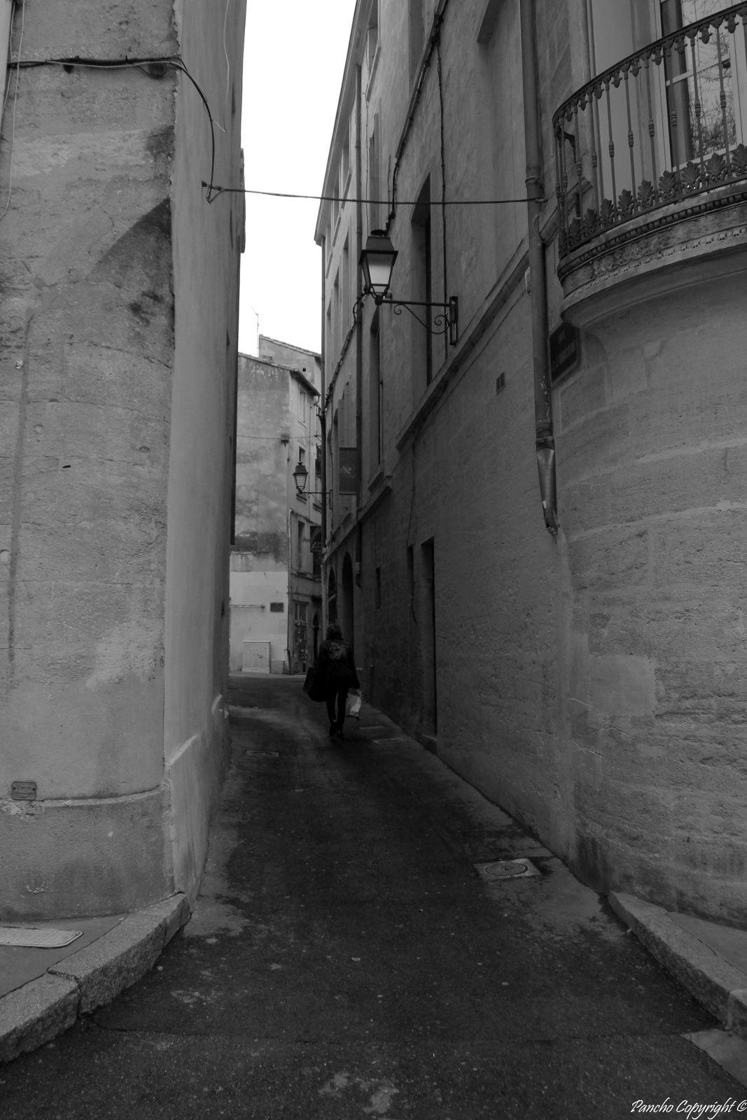 Les rues...