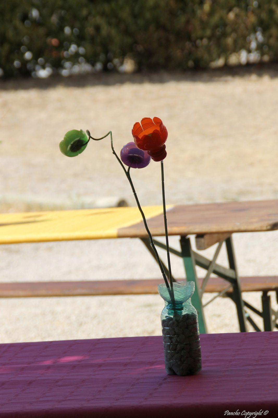 Des fleurs comme des vraies...