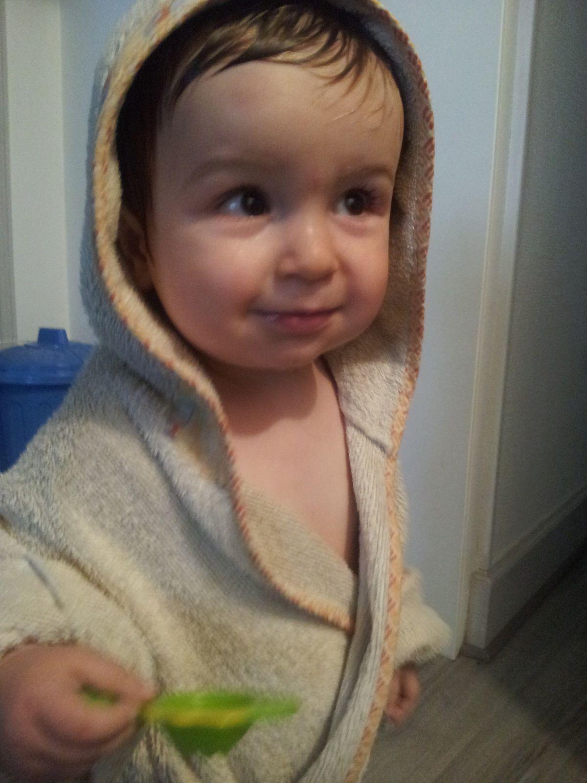 La sortie de bain