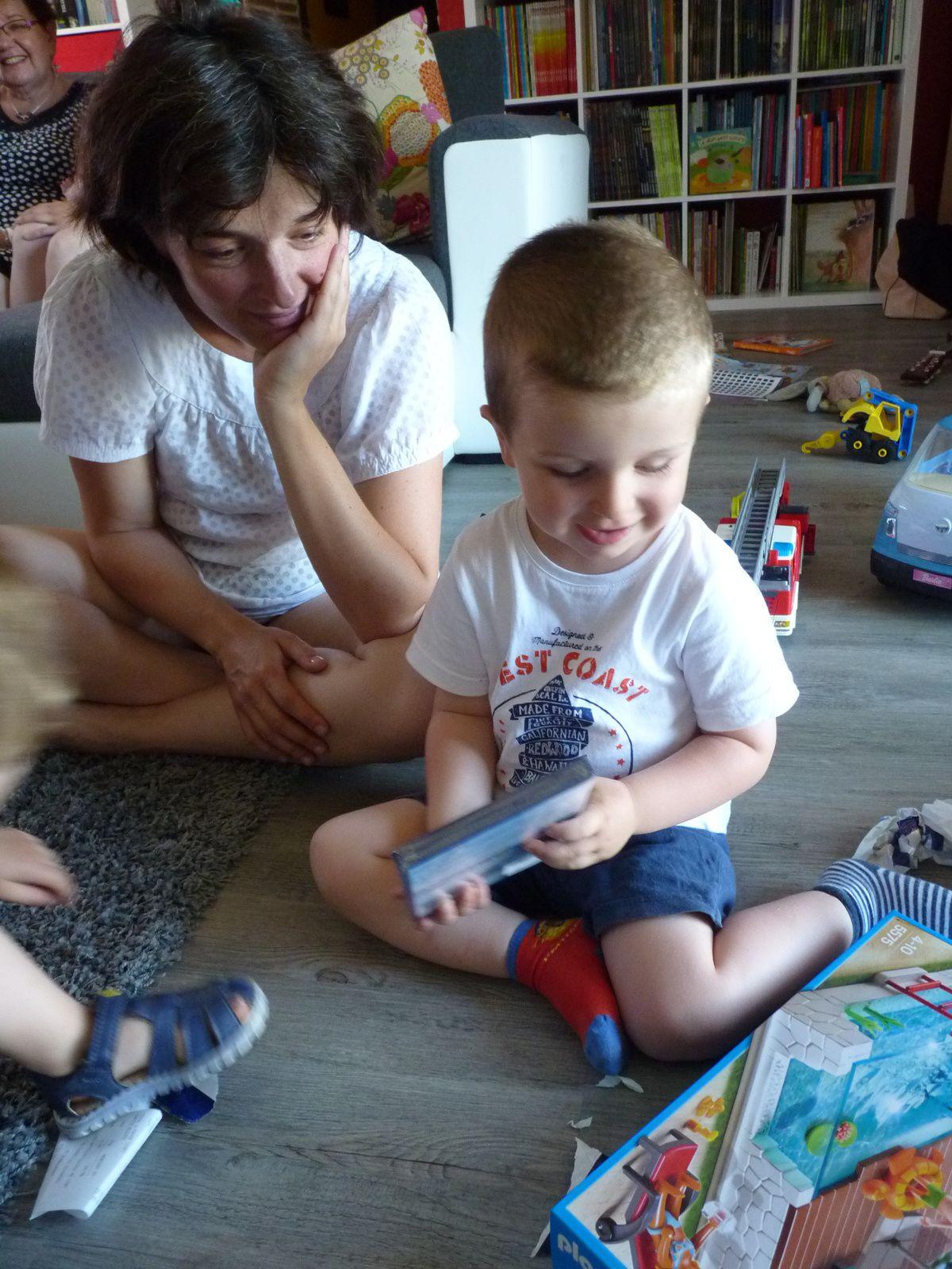 10 juillet- on fête les 3 ans de Gabriel