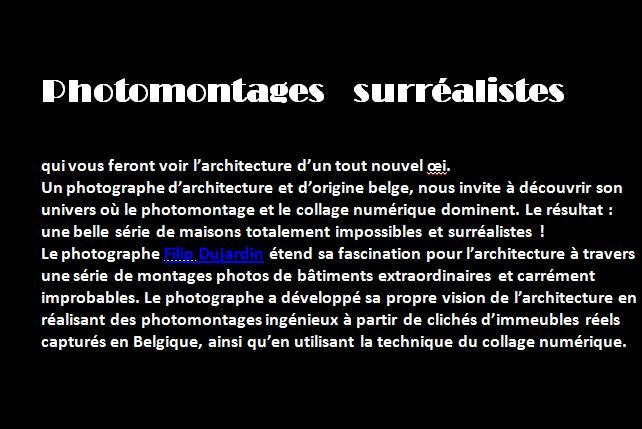 Photos montages