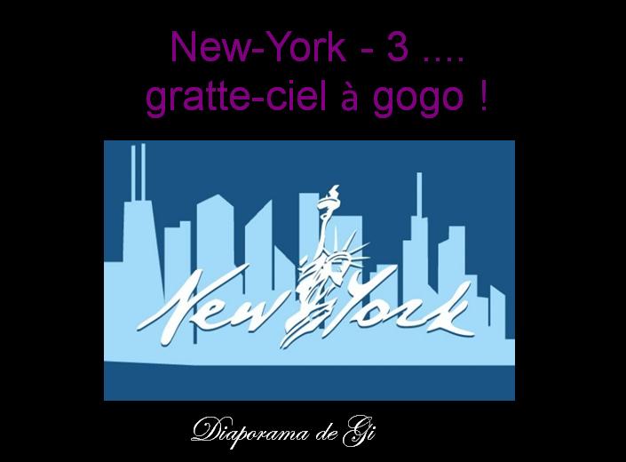 New York : Gratte ciel