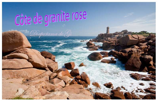 Côte de granite rose