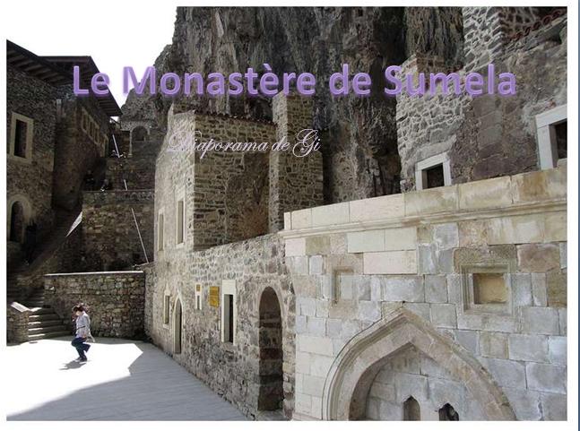 Le monastère de Sumela