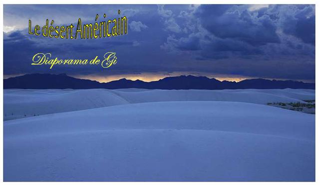 Le désert Américain