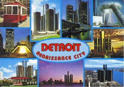 Mes cartes postales reçu des Etats Unies.