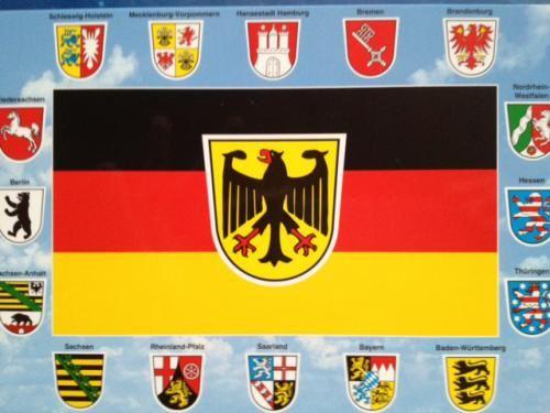 Deutschland, von überall aus den verschiedenen Bundesländern