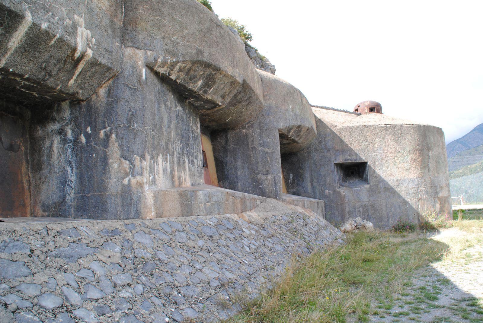 Le fort Frassinéa Maginot de Rimplas Balade d'ici et d'ailleurs
