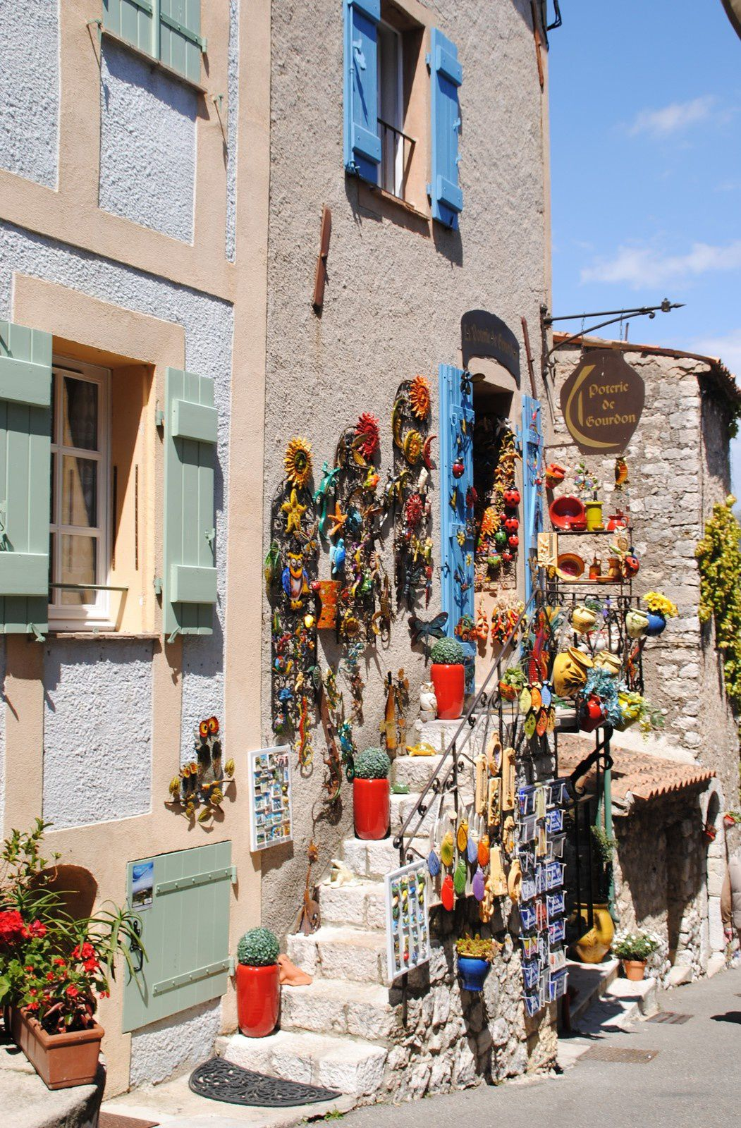 Gourdon Alpes-Maritimes balades d'ici et d'ailleurs