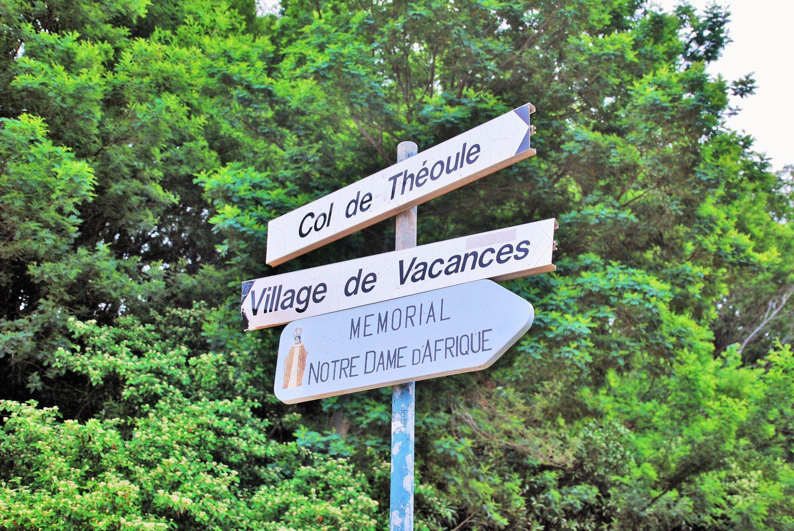 Notre Dame d'Afrique ( Col de Théoule )&quot&#x3B;Balades d'ici et d'ailleurs &quot&#x3B;