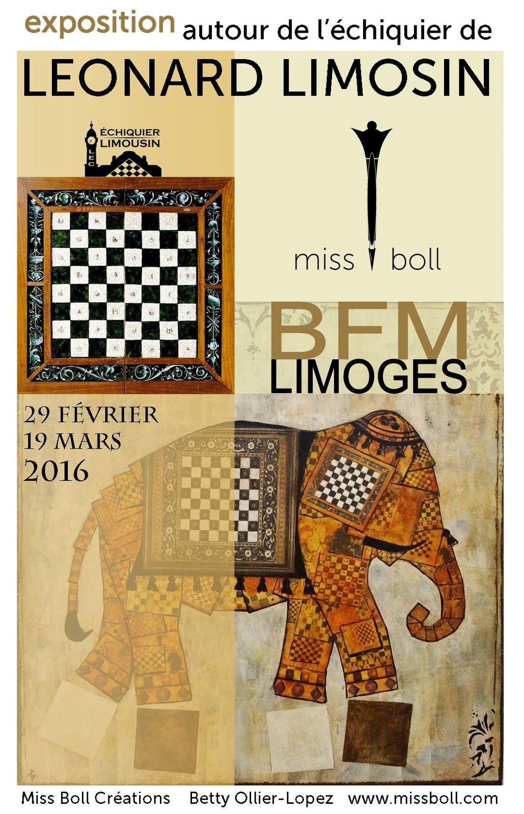 EXPOSITION A LA BFM DE LIMOGES