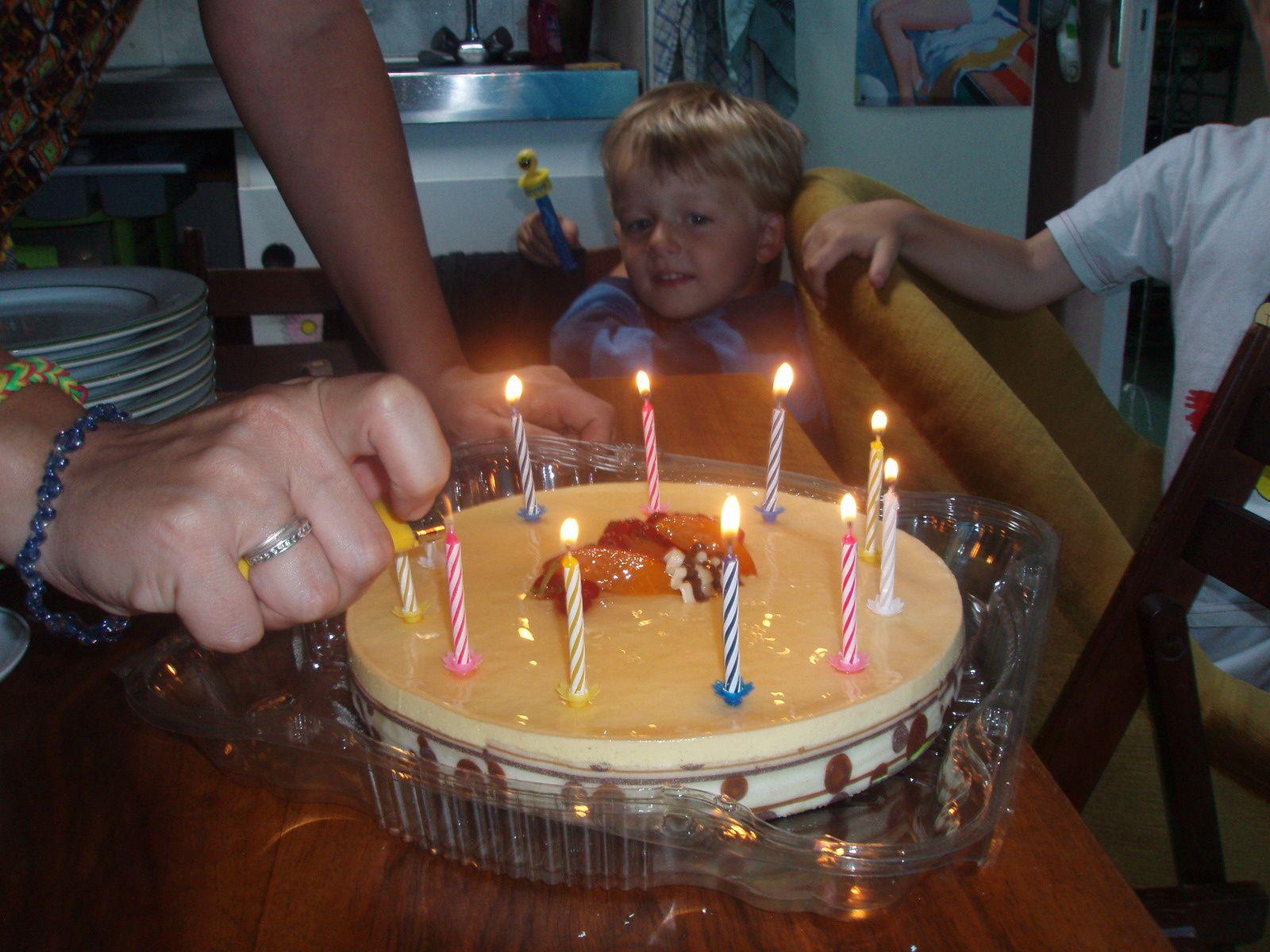 Surprise!!!! Joyeux anniversaire Quentin!!!!