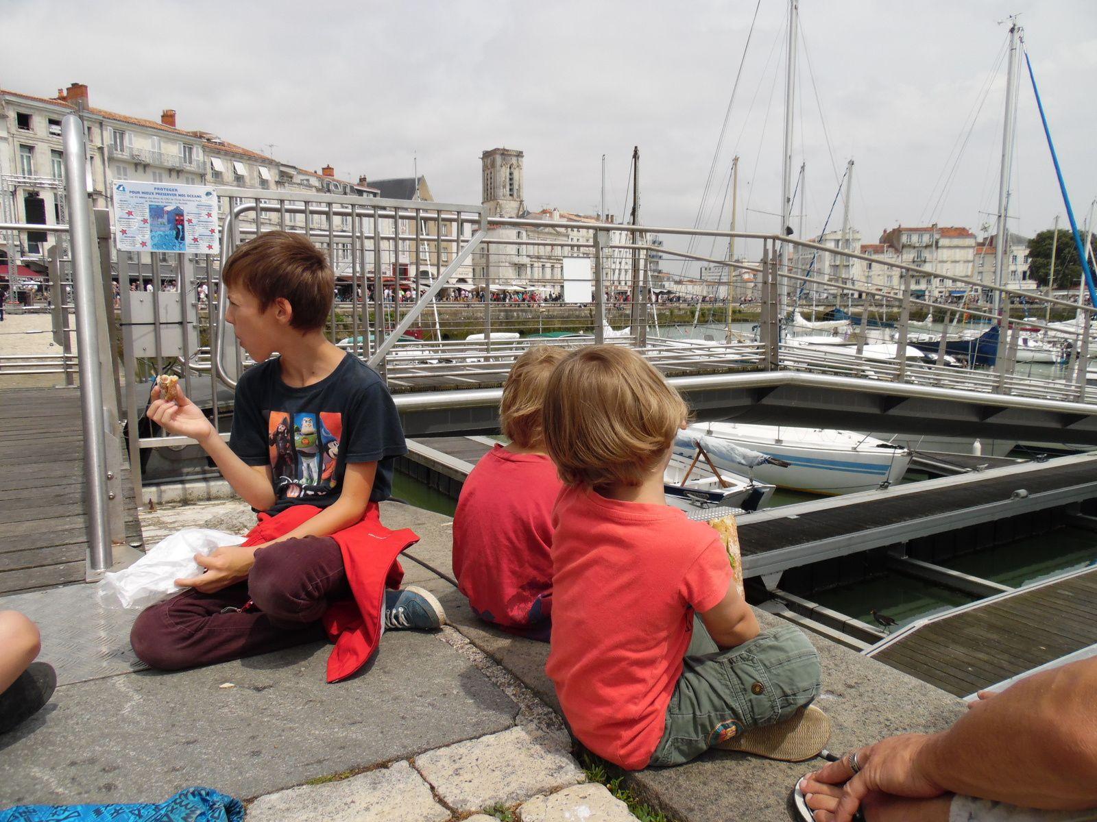Journée à La Rochelle