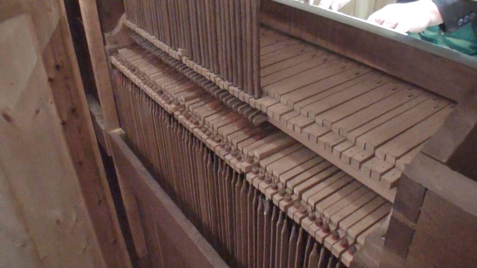 Historique : Restauration de l'orgue