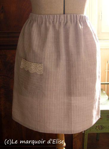 Un peu de couture (1) : des jupettes