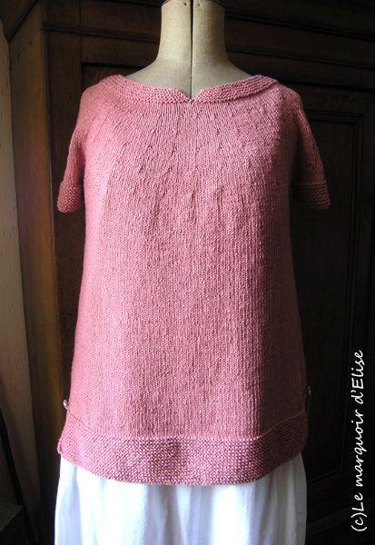 Pull coton et lin pour l'été