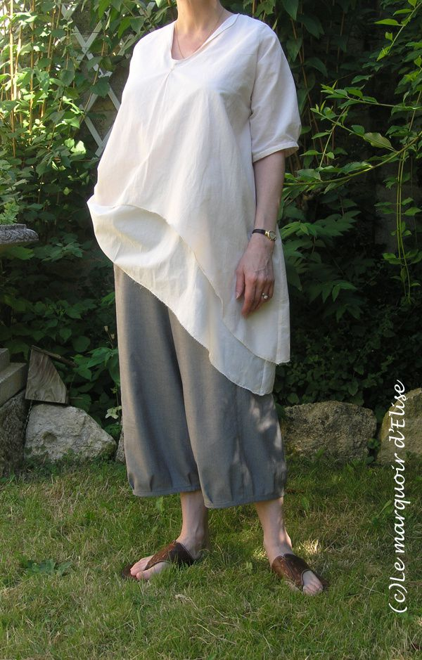 Phoebe tunic and pants