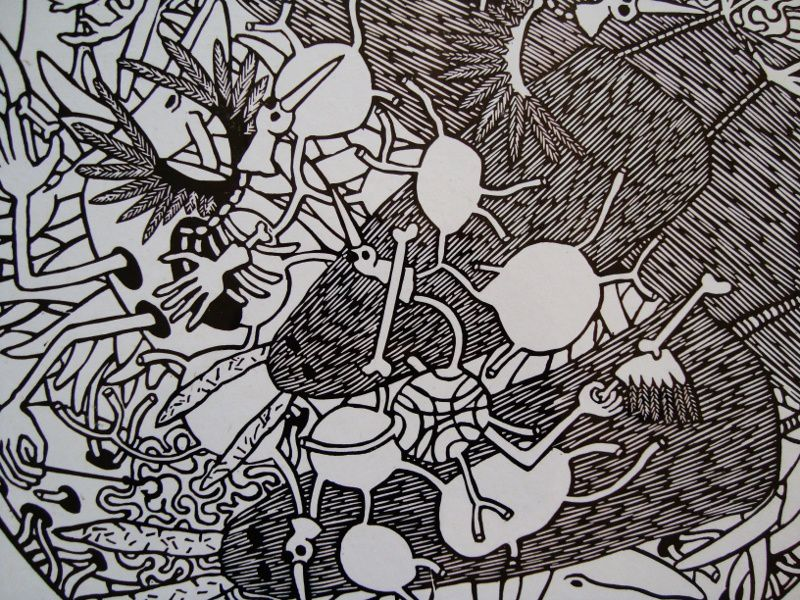 Les affiches noir et blanc de Pierre Abernot