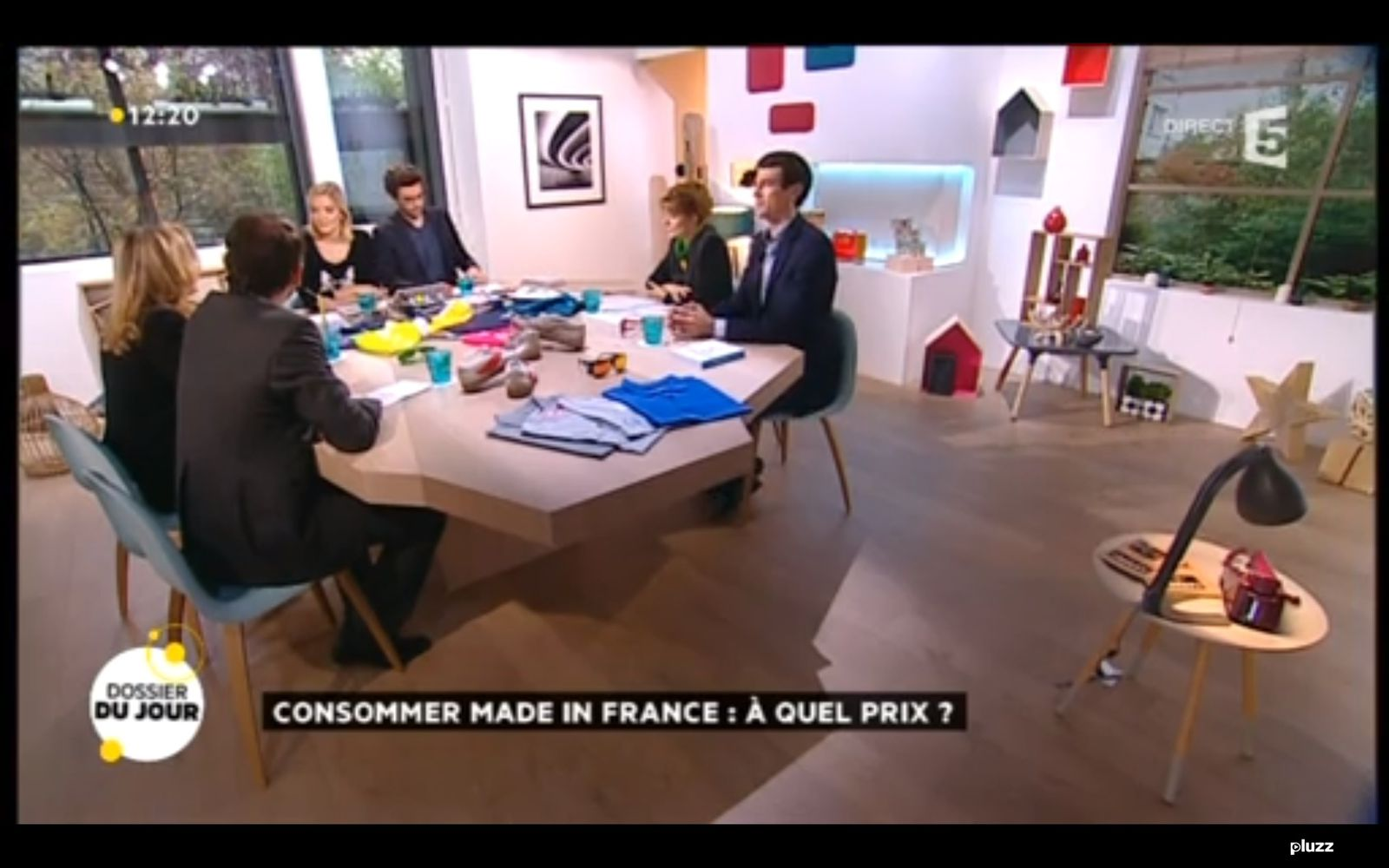 la quotidienne france 5 dans les secrets d 39 un plateau tv. Black Bedroom Furniture Sets. Home Design Ideas