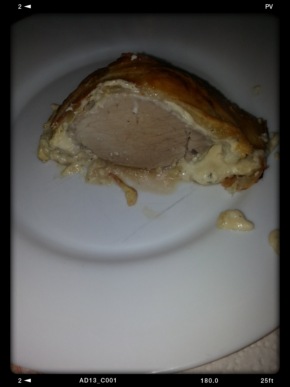 filet mignon au boursin en croute