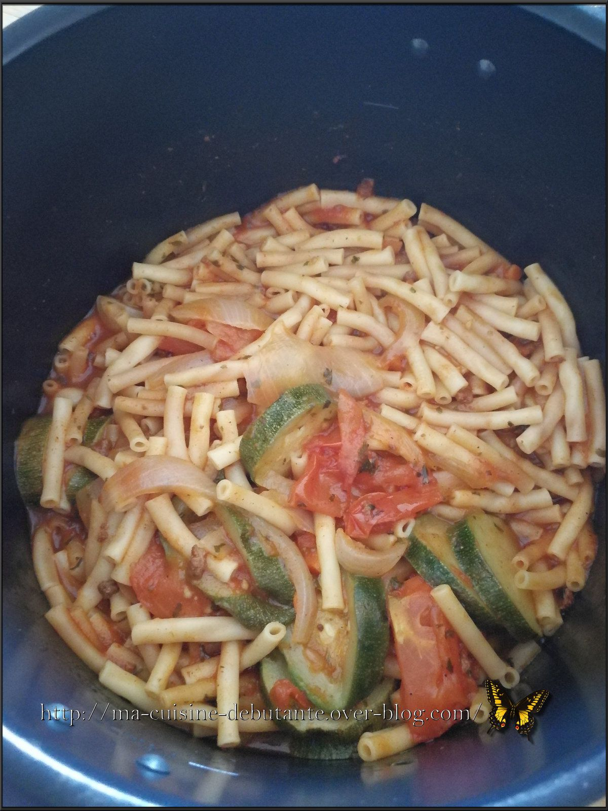 One pot pasta légumes