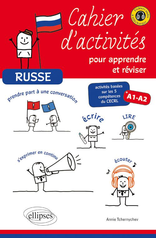 Russe - Cahier d'activités pour apprendre et réviser A1-A2