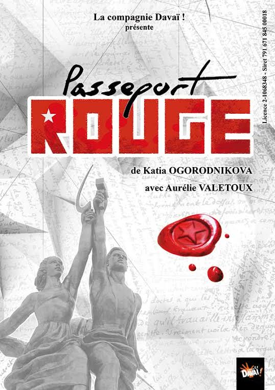Spectacle &quot&#x3B;Passeport rouge&quot&#x3B; au TNT