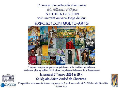Expo multi-arts à Chartres