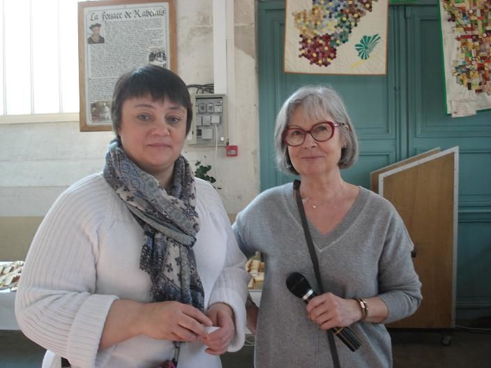 Sylvie Lacaussague et Maryse Allard