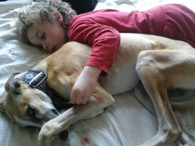 Raina et son petit homme pour veiller sur elle ... une belle nouvelle vie