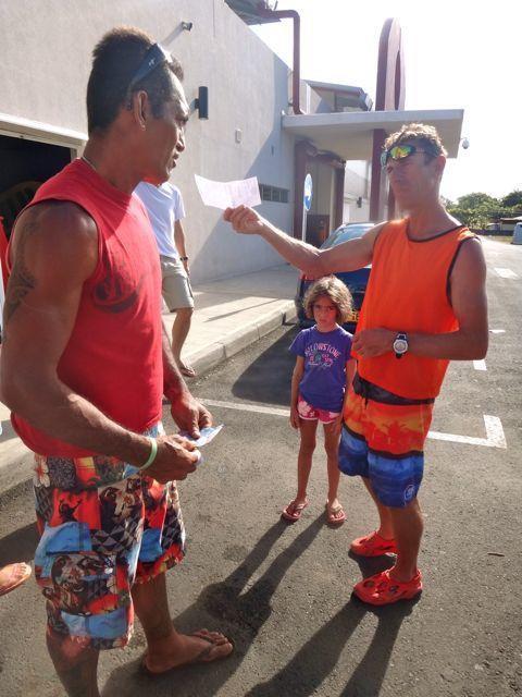 Les défis de Tahiti iti : le staff