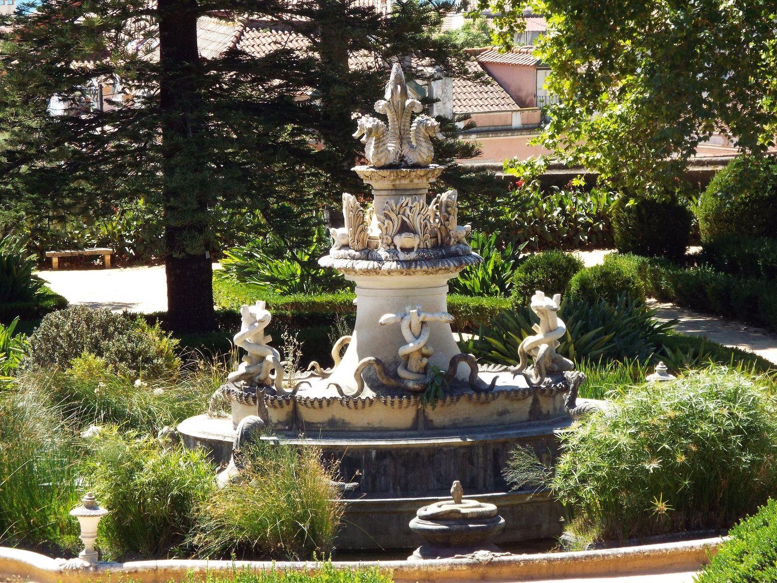 Jardin botanique d'Ajuda ( Lisbonne).
