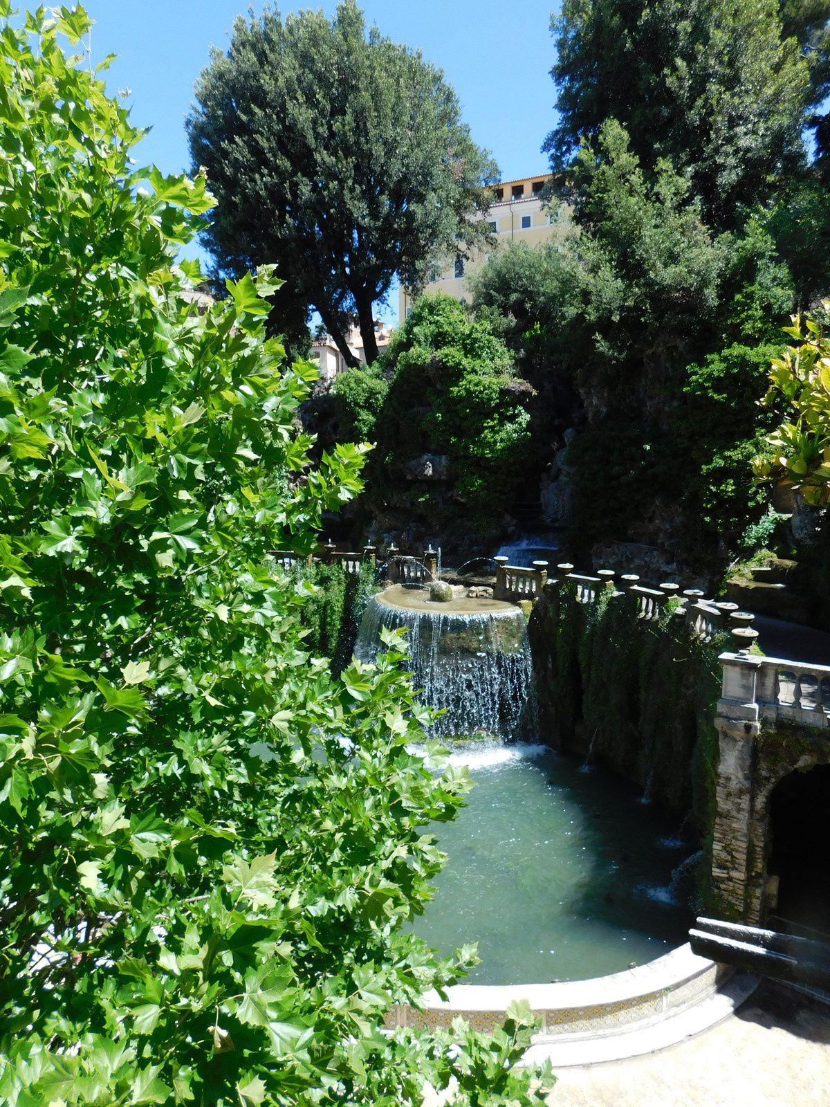 Villa d 39 este tivoli jardin de for Jardin villa d este