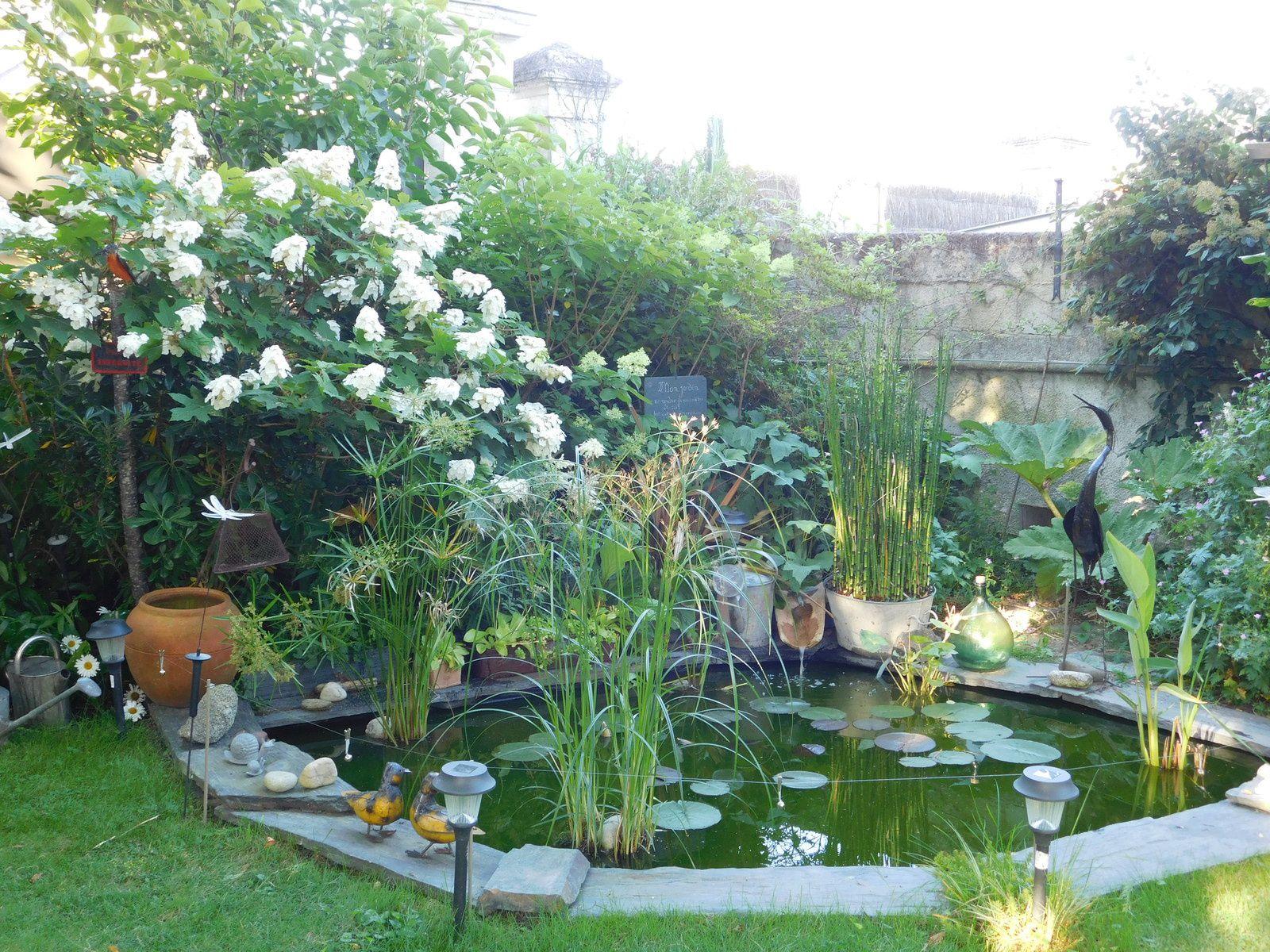 Un jardin créatif.
