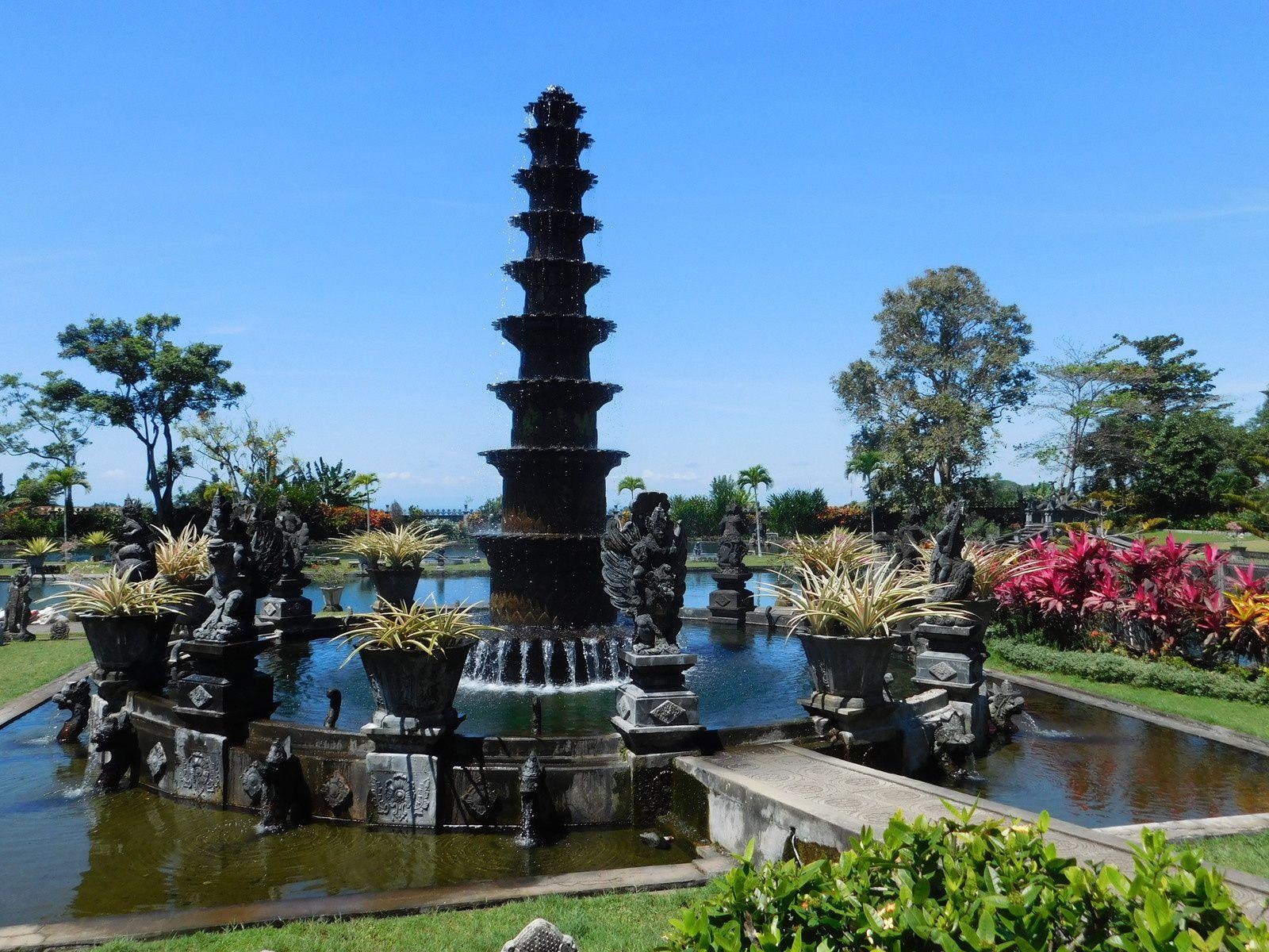 Water Palace de Tirtagangga.